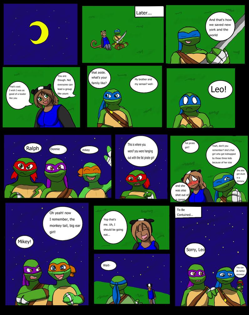Leo and Rin part 2 by ninjademontamer