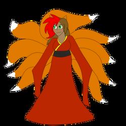 Nine tailed Spirit Costume