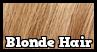 Blonde Hair - Stamp by Starrceline