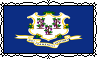 Connecticut State Flag - Stamp by Starrceline