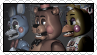 Toy Freddy Chica and Bonnie - Stamp by Starrceline