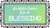 Blessing - Stamp by Starrceline