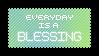 Blessing - Stamp by Starrceline