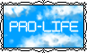 Pro-Life - Clouds - Stamp by Starrtoon