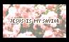 Jesus Is My Savior - Stamp by Starrtoon