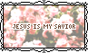 Jesus Is My Savior - Stamp by Starrceline