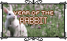 Year Of The Rabbit - Stamp by Starrtoon
