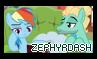Zephyrdash - Stamp by Starrceline