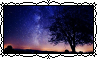 Night Sky - Stamp by Starrceline