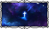 Space Cross - Stamp by Starrtoon