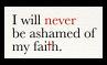 Never Ashamed - Stamp by Starrceline