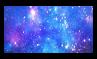 Blue Space - Stamp by Starrceline