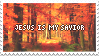 Jesus Is My Savior 2 - Stamp by Starrceline