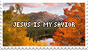 Jesus Is My Savior 4 - Stamp by Starrceline