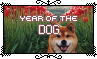 Year Of The Dog - Stamp by Starrceline