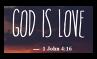God Is Love - Stamp by Starrtoon