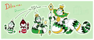 Deltamas - Ornament Diamonds Reference by Starrtoon