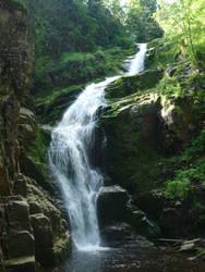 Wodospad Kamienczyka by krzysiu-jarzyna