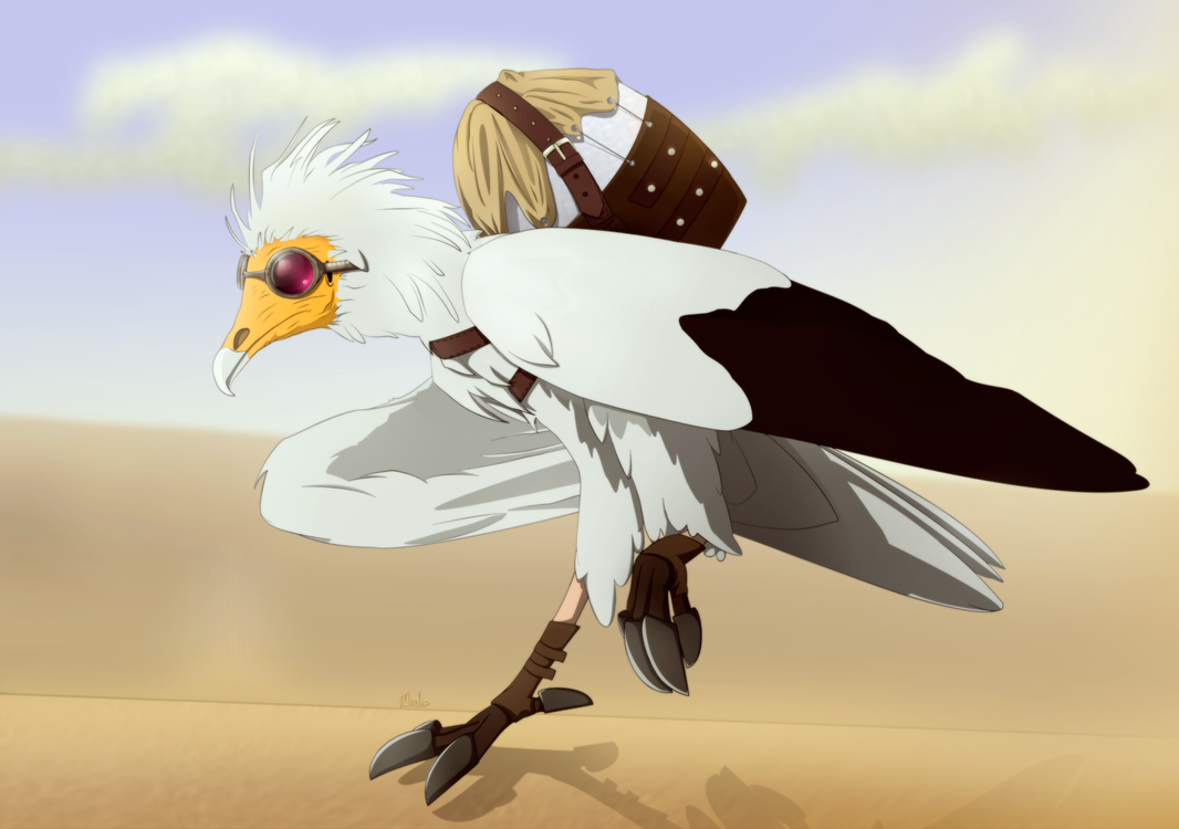 Spuk the Pharaoh's Chicken by Earldense