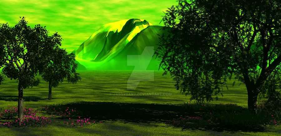 Bryce Landscape - Green Impact by Jassy2012