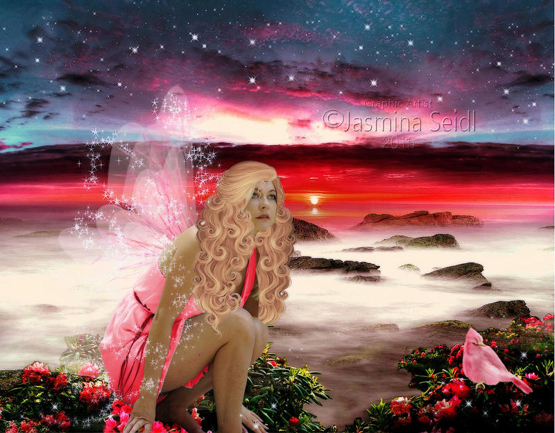 Fairy by Sunset by Jassy2012