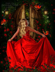 Red Roses Garden (updated) by JassysART