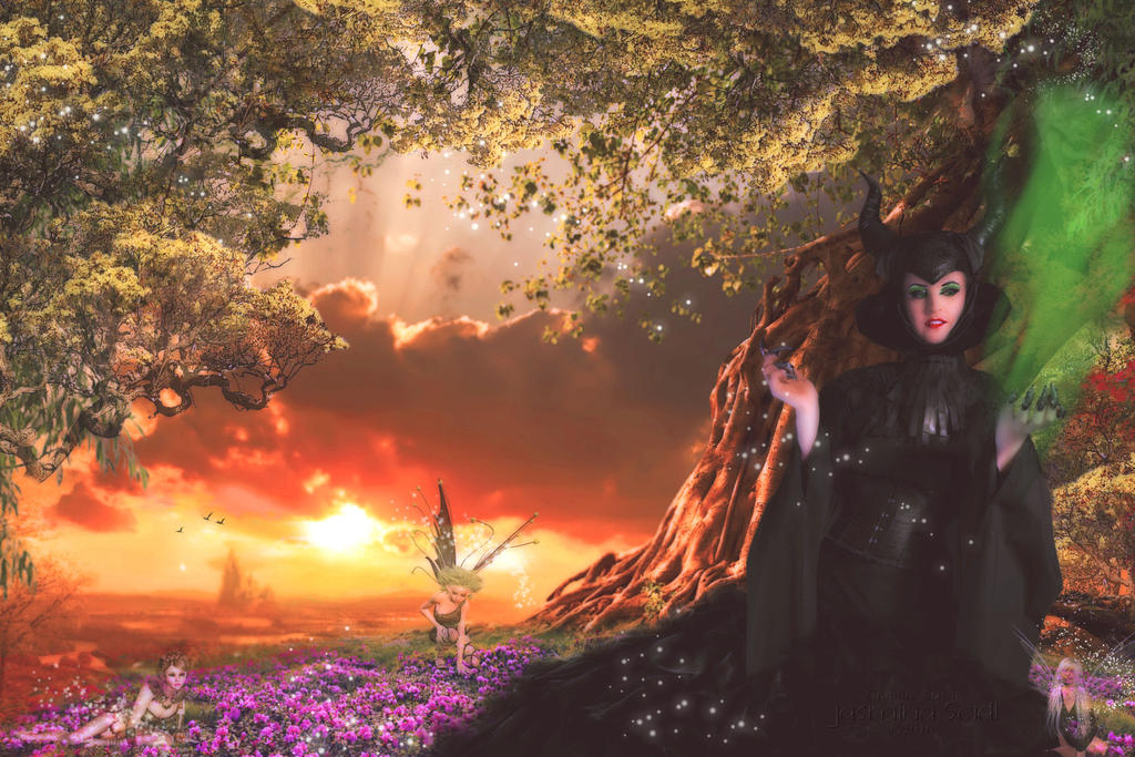 Entry Contest: Maleficent and her Kingdom by JassysART