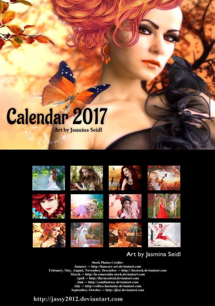 Art Calendar 2017 by Jassy2012