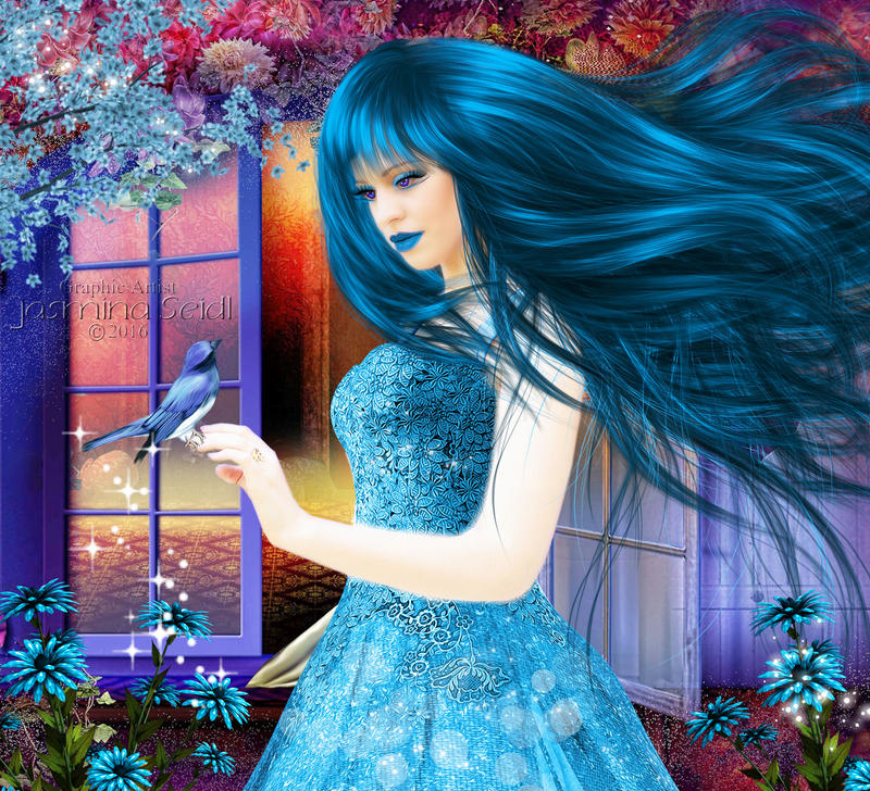 Emely Blue by Jassy2012