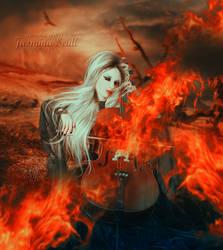 Symphony on Fire by JassysART
