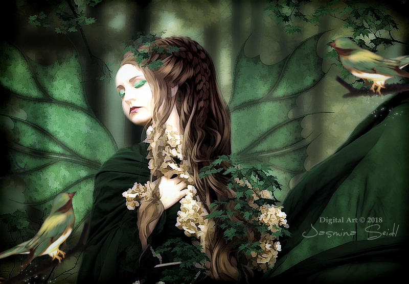 A Beautiful Dream Of A Forest Fairy by Jassy2012
