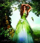 Green Lady by JassysART