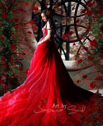 Lady In Red by JassysART