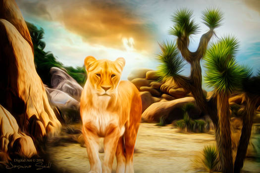 Lioness by JassysART