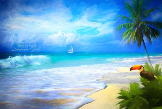 Like Paradise - painted