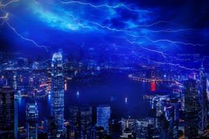 Thunder - Wallpaper by JassysART