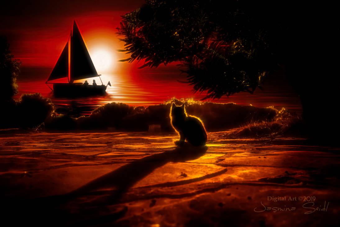 Cats Dream by JassysART
