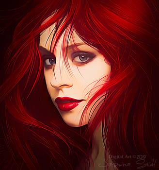 Jessica Portrait by JassysART