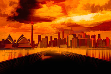 Comic City by JassysART
