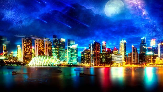 Skyline Dreams by JassysART