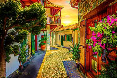 Mediterranean by JassysART
