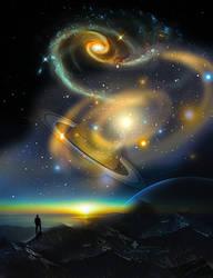 Cosmos chaos by JassysART