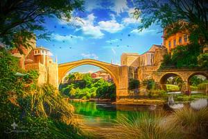 The Lake under the Bridge by JassysART