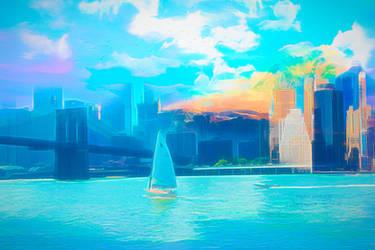 Skyline Mix by JassysART
