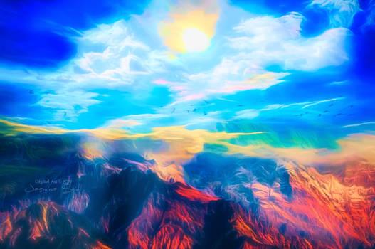 Colorful Horizon by JassysART
