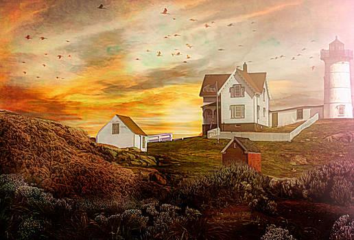 Golden Sunset by JassysART