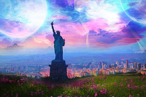 City of Liberty by JassysART