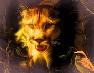 Wild Animal by JassysART