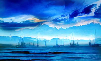 Blue Dreams by JassysART