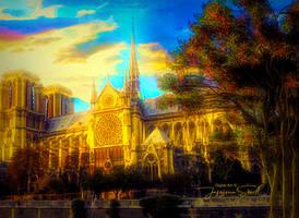 Notre Dame Paris by JassysART